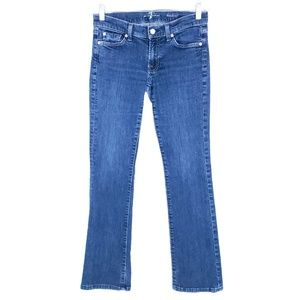 7 For All Mankind Jeans Low Rise Size 28 (28x30)